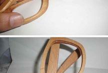 monturas para lentes en madera