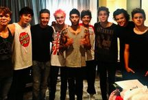 5sos and 1D / Just 9 idiots that I have fallen in love with❤️❤️ / by Evelyn Barrientez