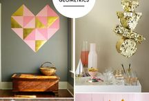 Meg's Grad Party / Rustic Glam Geometric