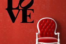Lovely Stickers / wallstickers dedicati all'amore: perfetti per San Valentino ed altre occasioni speciali!