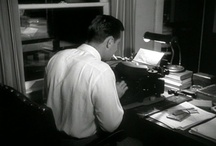 'FRONT PAGE PALOOKA' / NICK MORETTI / Meet Nick Moretti, 1953/4... Former newsman who will be seen in the FIGHT CARD boxing novella 'FRONT PAGE PALOOKA' ... This is his world and an example of how scribes can use PINTEREST