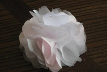 Fabric Flowers / by Linda Rousay
