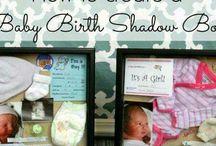 Shadow Box -Caja recuerdo del bebé