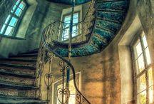 abandoned interiors