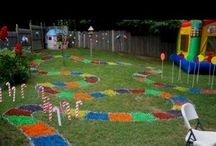 Candyland Birthday Party / Any party ideas, crafts, decor, tutorials, and recipes relating to a candy or candlyland party theme