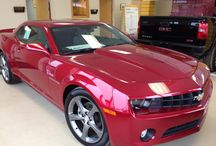 Fast cars / Red Camero  / by Kate Fuhrman