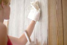 Painting wall panels