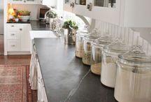 Kitchen bench tops
