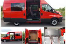 Minibus World Vehicle Handovers / A display of happy customers receiving their Minibuses!