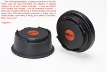 BRNO dri+Cap Dehumidifier Protection Caps / Protect your camera and lenses from moisture damage with the patented BRNO dri+Cap.  Available in Canon EOS and Nikon F mounts.  Works for both digital and film cameras.