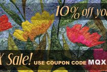 Coupons and Sale Items / We sometimes offer product specials, sale prices, and coupon codes!