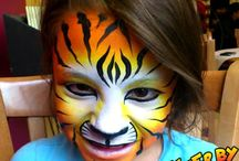 Face Painting / Face Painting is great for any event, from festivals, birthday parties, weddings, graduations, bachelor and stagette parties, school fairs and everything between. Facepainting is fun for all ages and never gets boring!