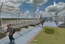google earth airport