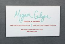 business card clean & simple