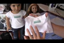 doll clothing and stuff / by Sally Suchodolski