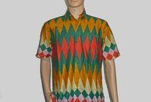 Kemeja Batik Pria [H-880] Hem Batik Rang-Rang