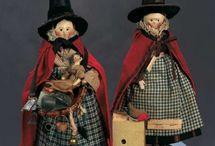 Doll - Grodnertal Wooden Penny