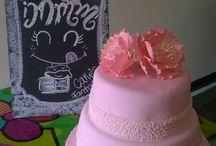 mis cakes...