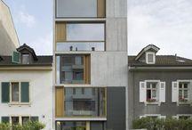 Fassade. facade.