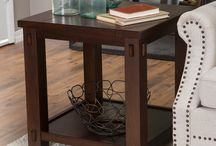 End Tables That Inspire / Poplar accent chair side end tables.