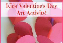 Valentine's Kid friendly crafts / Kid friendly crafts
