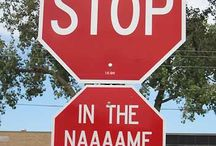Street Signs. (smh)