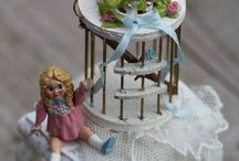 24 MINI BASKETS, BIRDCAGE / by Lisa Scissell