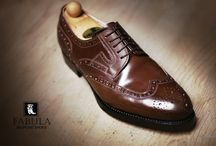 Derby shoes / Bespoke shoes are worn by men from all over the world, who relate with a special sensitivity to the delicacy of life, the quality and the richness of elegancy. Shoes like these are made by hand, and they are unique arts and craft creations.
