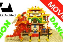 Lego Lion Dance / Lion dance Dragon Dance Asian Dance