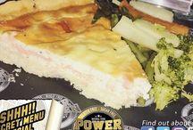 POWER KITCHEN LTD   Secret Special Thursday  Homemade gluten free Salmon quiche