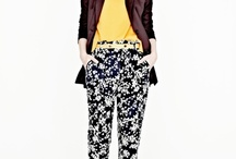 The printed pant / And they say a leopard can't change their spots.