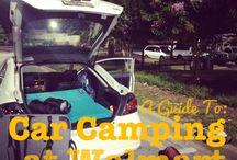 Car camping / by Lauren Charter