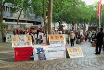 آلمان  ؛ هامبورگ / تظاهرات آلمان هامبورگ