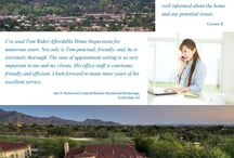 Client Testimonials / What clients are saying about Affordable Inspections http://www.affordableinspection.net/ #ArizonaHomeInspection #PhoenixMoldInspection #ArizonaMoldInspection #PhoenixHomeInspection