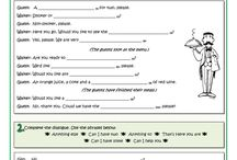 worksheets English