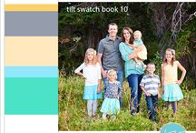 Spring Family Photo Color Schemes