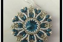 kék medál