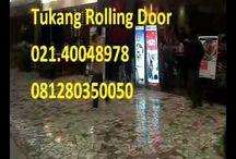 tukang servis rolling door folding gate panggilan depok 081280350050