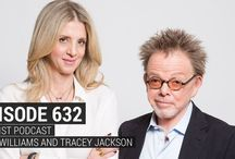 Podcasts / Listen in to Paul and Tracey