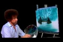 Happy little Clouds  / Bob the man Ross
