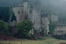 Old castles and houses