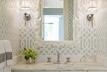 home design- bathroom / by Paula Caldwell