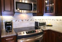 Fabulous in Freeport / This homeowner suffered as did many who live near the water after Super Storm Sandy.  Re-building after the disaster brought her kitchen back to its newly remodeled  look and efficiency.