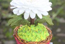 Felt Flower / Felt Flowers of mine
