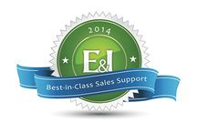 E&I Best-in-Class Sales Support Award