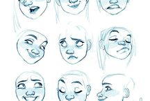 Expressions and faces