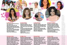 GIRLS WHO ROCK / Celebrity Girls Who Rock at Glitter Magazine