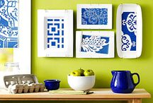 Blue/Green Kitchen Ideas / by Jane Reimer