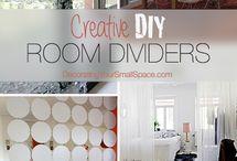 Room dividers (DIY)