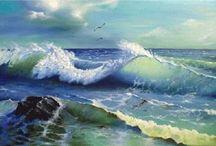 Mar e sol ♡
